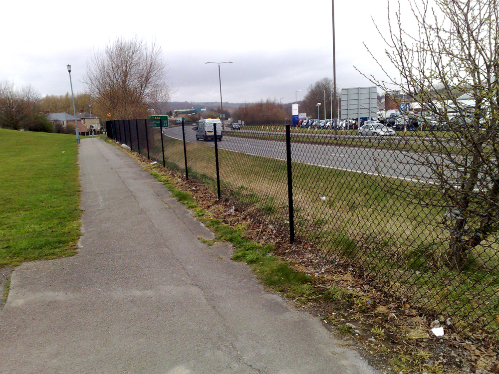 Security Fence Companies Midlands