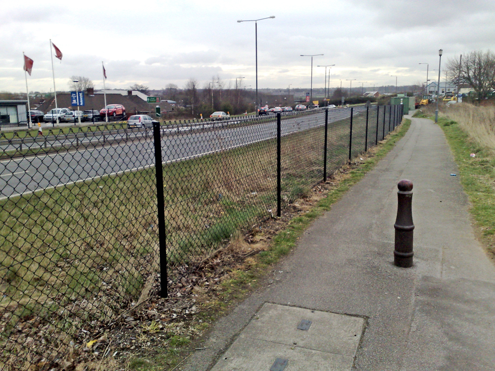 Chain Link Fencing Contractors Derbyshire & Midlands