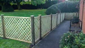 Timber Panel Fencing Midlands