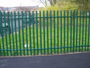 Palisade Security Fencing for Commercial Companies