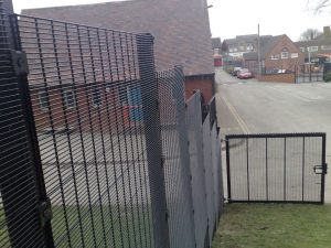 Weld Mesh Panel Fencing Midlands