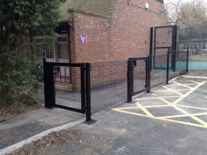 Weld Mesh Security Fencing Derby