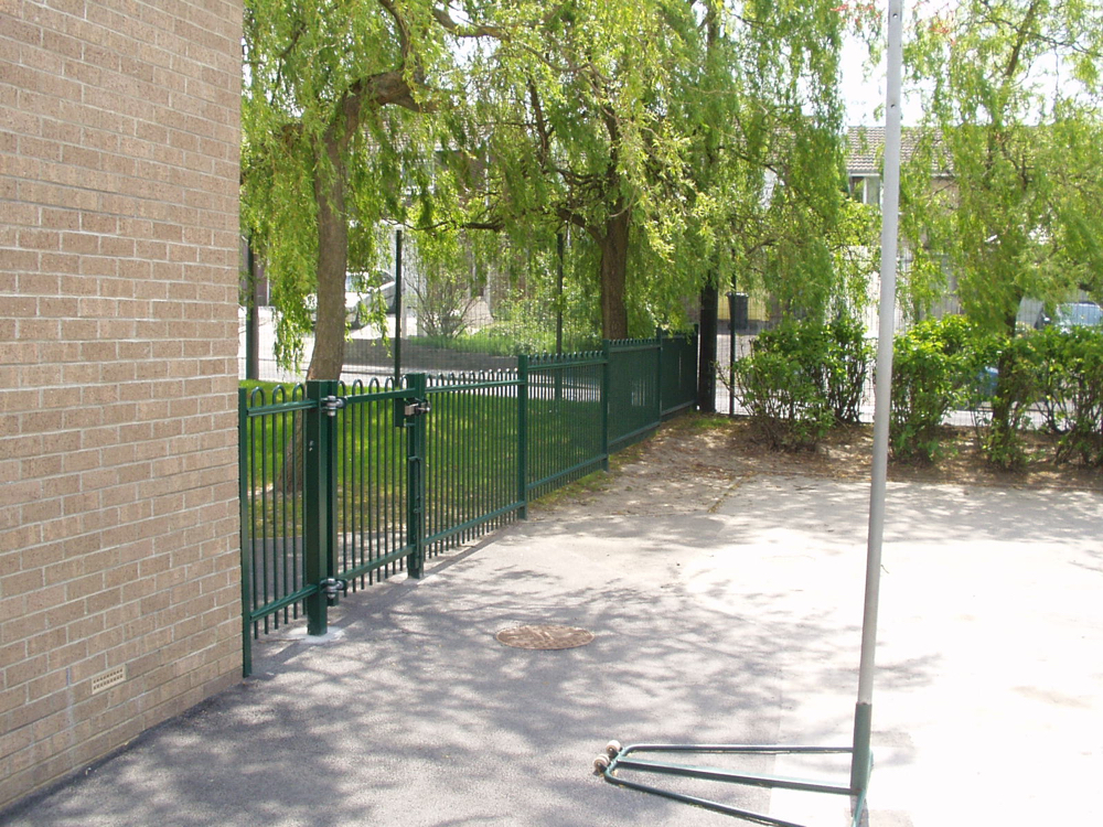 Metal Security Railings Derbyshire & Midlands
