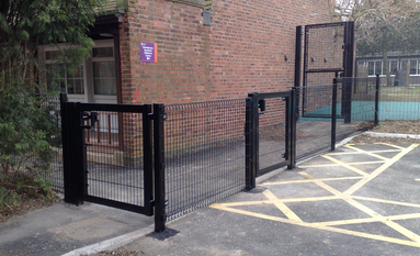 Weldmesh Security Fence Company Midlands