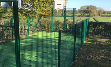 Ball Court Fencing Derby, Nottingham, Midlands