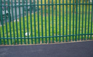 palisade security fencing contractors Derby & Midlands