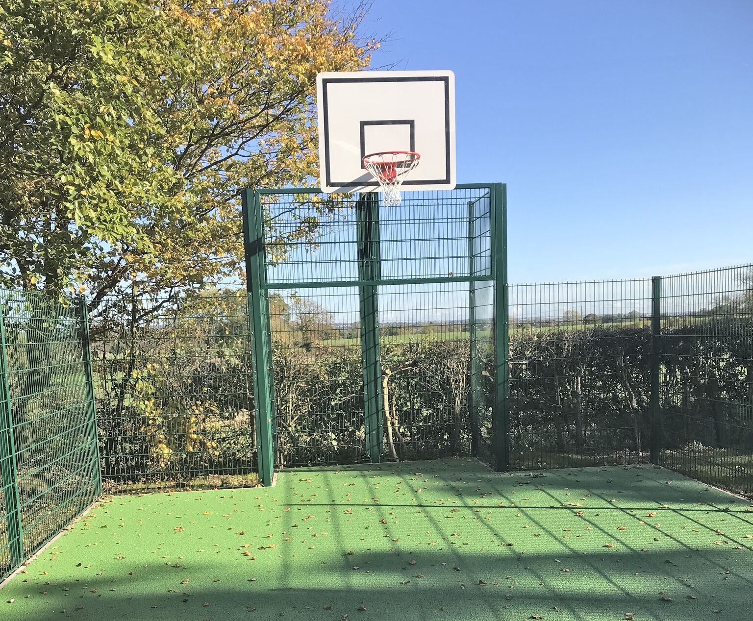 Ball Court Fencing for Clubs & Sports Midlands