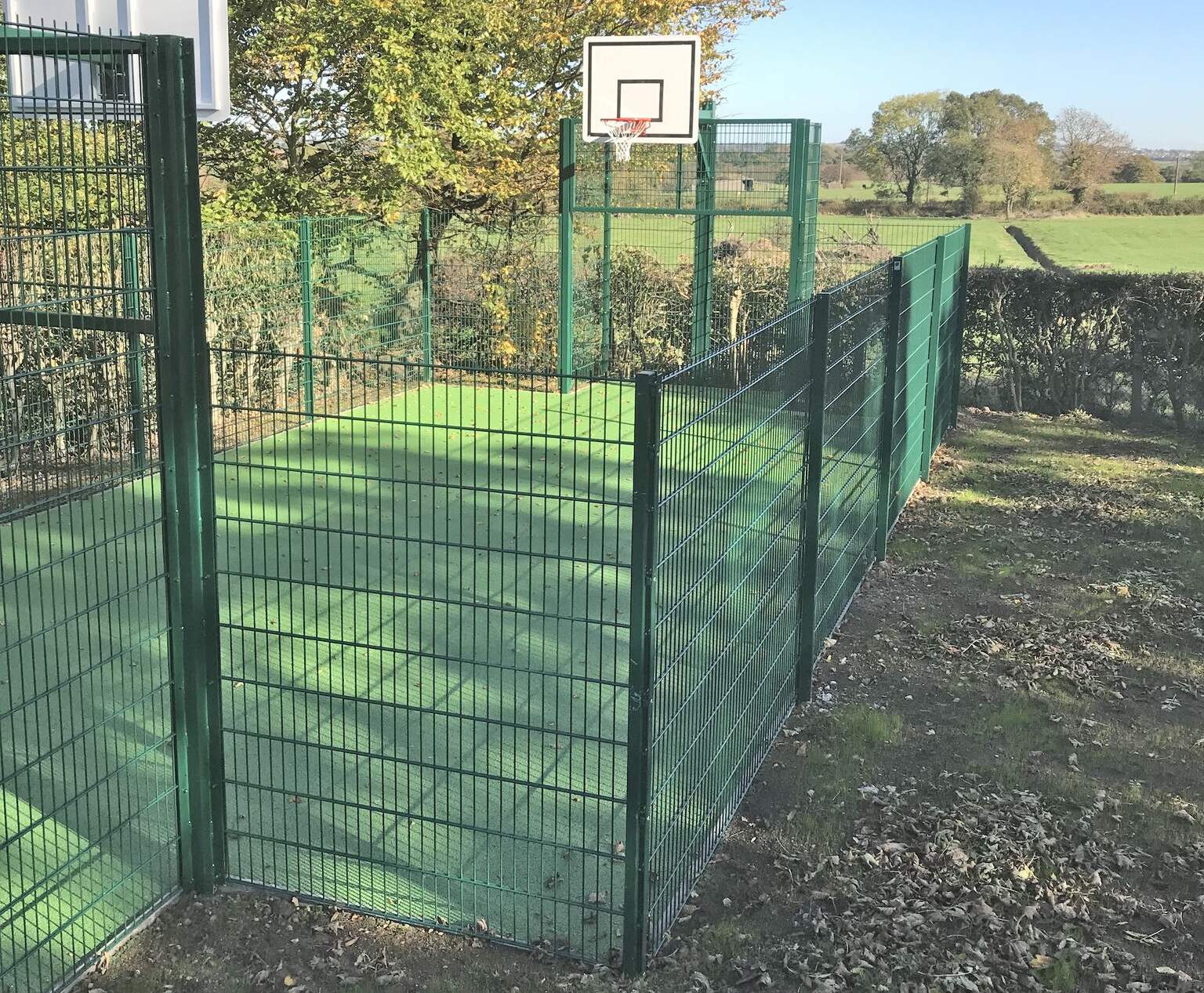 Ball Court Fencing Contractors Midlands